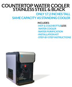 BDX1-CT Countertop BottleLess Water Cooler Includes Everything You Need