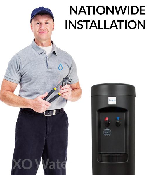 XO BottleLess Cooler Installation