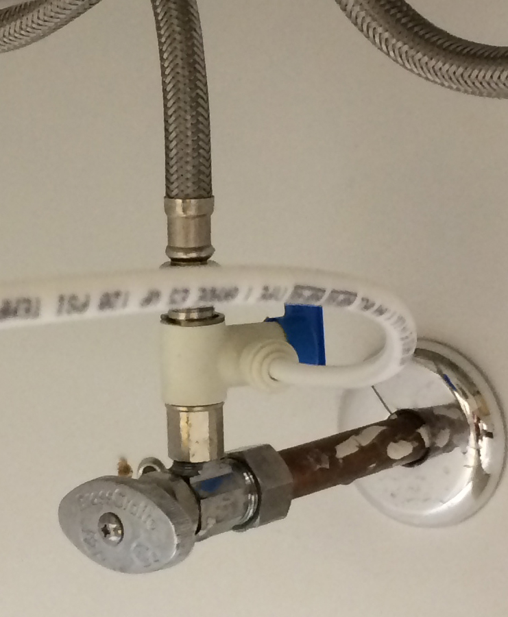 Max adapter used to tie into a sink