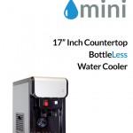 mini bottleless countertop cooler by xo water