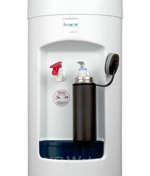XO Water Bottleless water cooler - fill your sports bottles