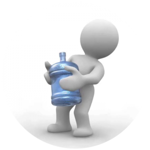 Lifting Heavy 5 Gallon Water Bottles