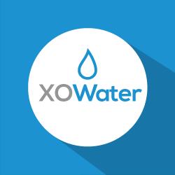 XO Water logo round